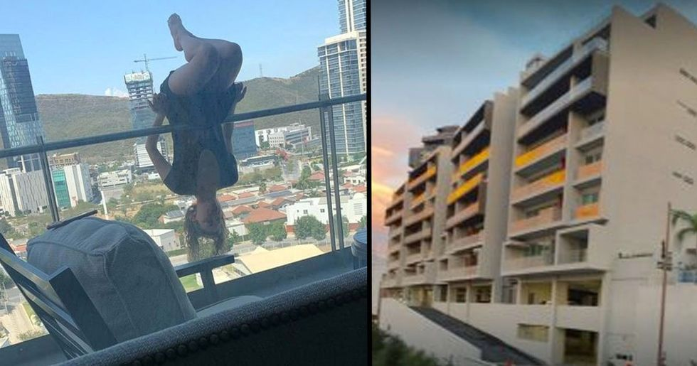 Woman Falls 80-Feet From Balcony While Attempting Extreme Yoga Pose