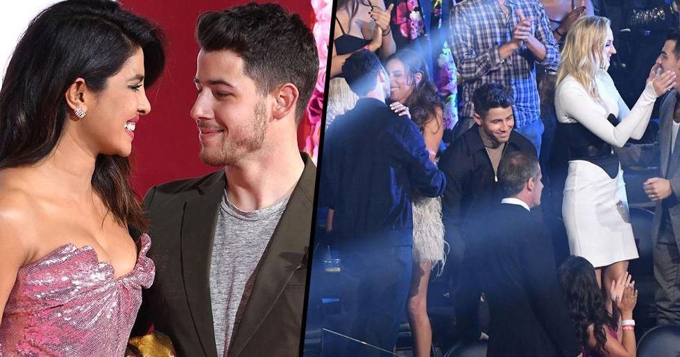 Priyanka Chopra Trolls Nick Jonas for Fifth-Wheeling at the VMAs
