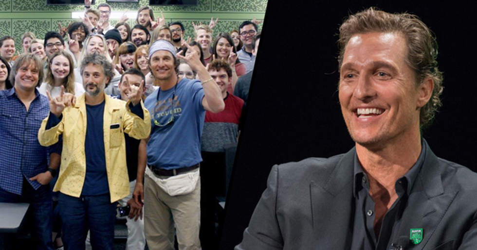 Matthew McConaughey Is Now a Full-Time Film Professor at the University of Texas