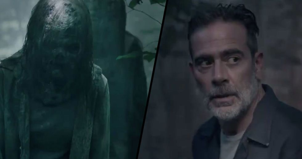 Negan Joins The Fight Against The Whisperers In New 'Walking Dead'