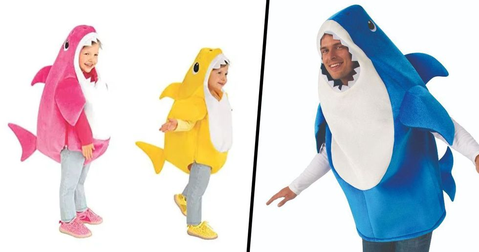 Amazon Is Selling Singing 'Baby Shark' Halloween Costumes For The Whole Family