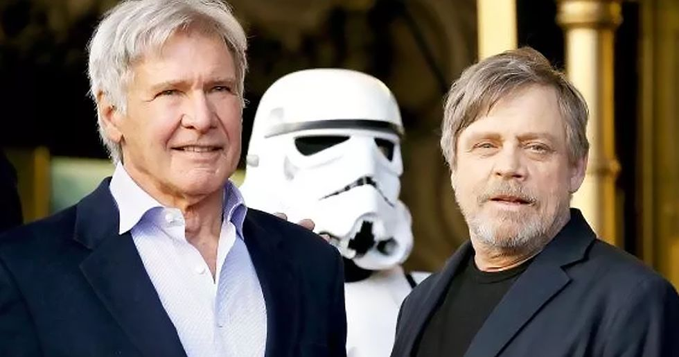 Mark Hamill Just Shared His First 'Star Wars' Screen Test With Harrison Ford