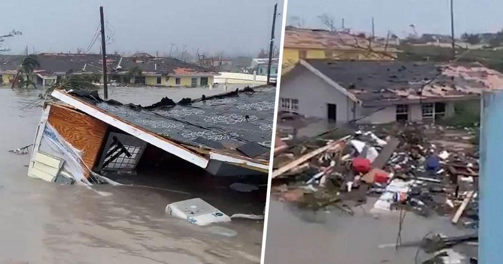 Bodies Floating In Water After Hurricane Dorian Hits Bahamas