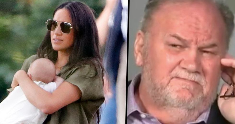 Meghan Markle Has No Intention of Letting Her Dad Meet Baby Archie