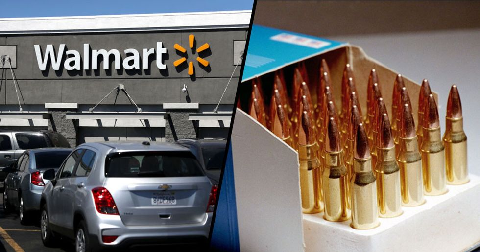 Walmart Bans the Sale of Handguns and Rifle Ammunition