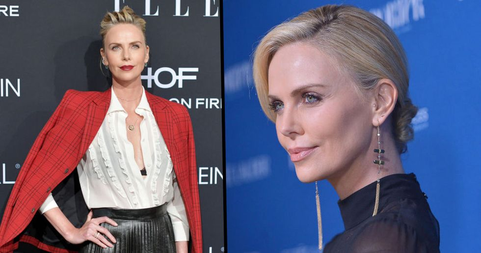 Charlize Theron Got a Bowl Cut and Looks Totally Different