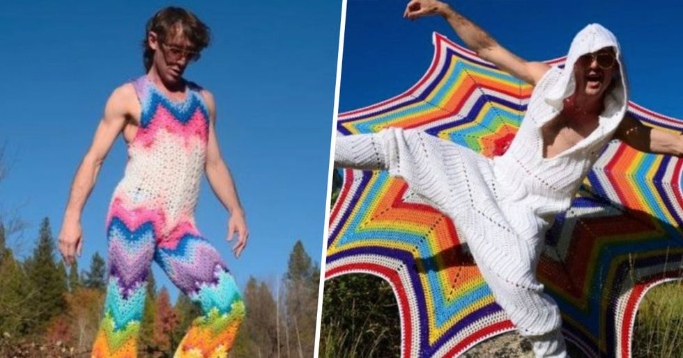 Crochet Onesies for Men Are Making a Fashion Statement
