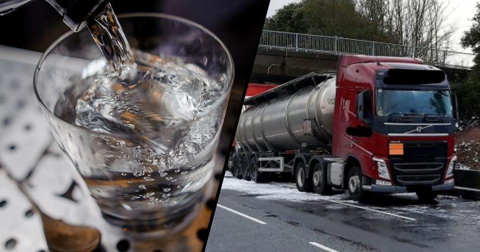 Highway Shut after 32,000 Liters of Gin Spills onto It