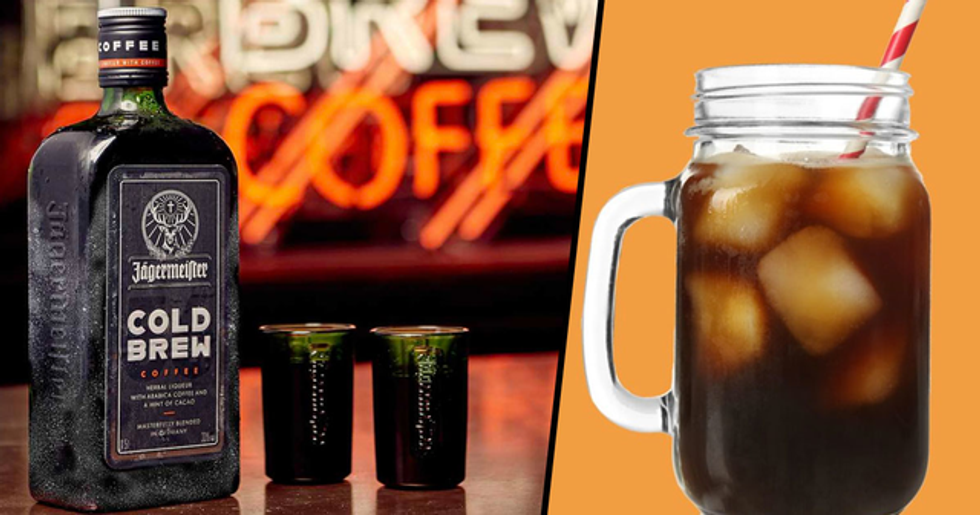 Jägermeister Is Releasing Spiked Cold Brew Coffee Made With 33% Alcohol