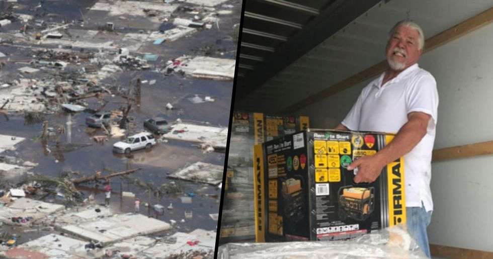 Man in Florida Spends $50,000 at Costco on 100 Generators and Supplies for the Bahamas