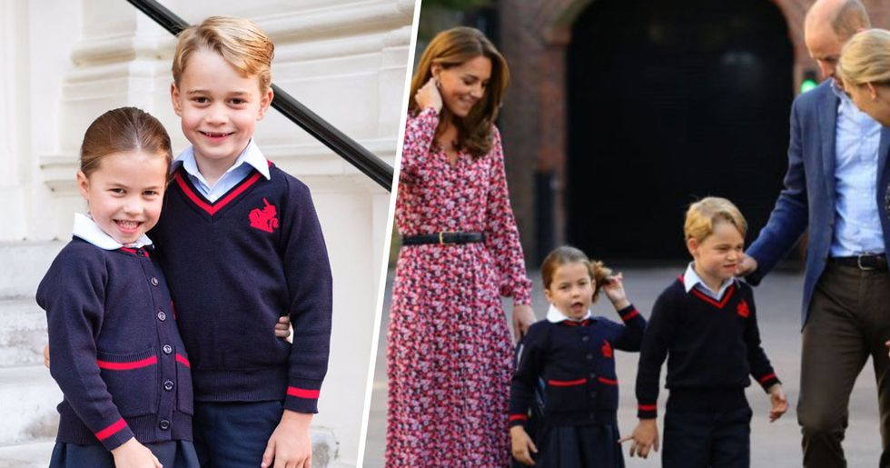 Kate Middleton Gave Princess Charlotte the Cutest Advice at School