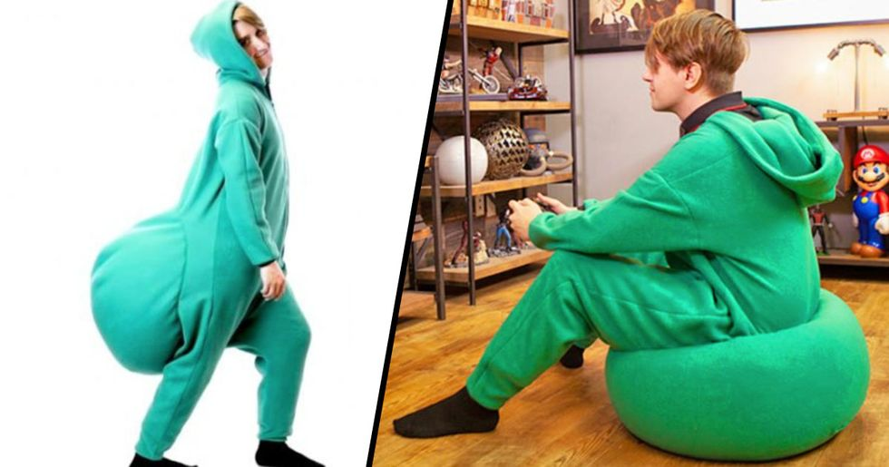 Someone Made a Beanbag Onesie and We'd Love to Have One