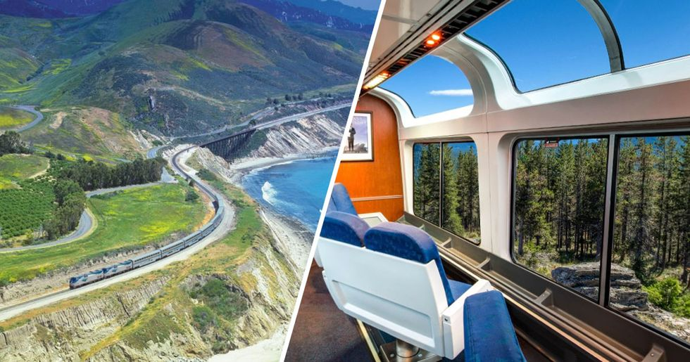 The Most Beautiful Train Journey in America Only Costs $97