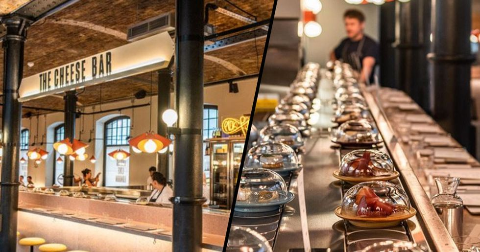 World's First Cheese Conveyor Belt Restaurant Opened This Week