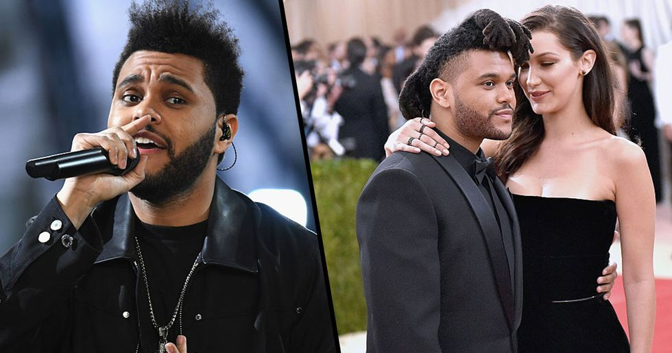 The Weeknd Looks Unrecognizable in First Red Carpet Appearance Since Bella Hadid Split