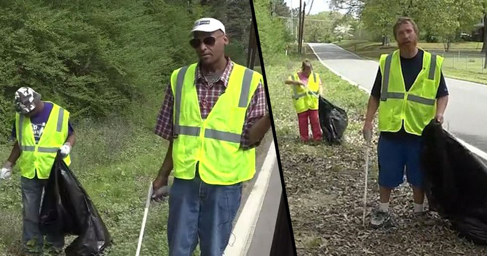 Arkansas City Is Paying Homeless People $9.25 an Hour to Pick up Trash