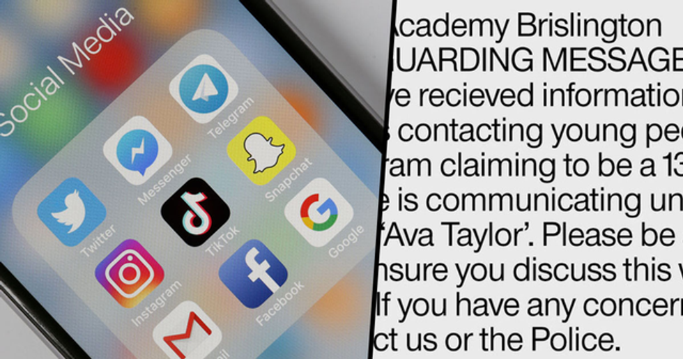 Parents Warned That If a Girl Called Ava Taylor Contacts Their Children They Need to Block Her