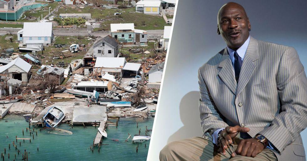 Michael Jordan Donates $1 Million to Bahamas Hurricane Relief