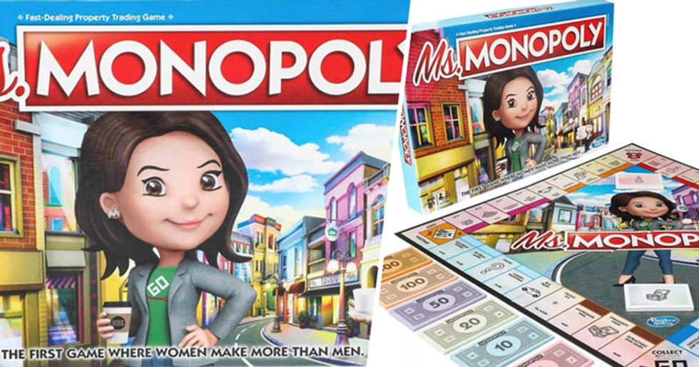 Women Get More Money Than Men in New Monopoly Game