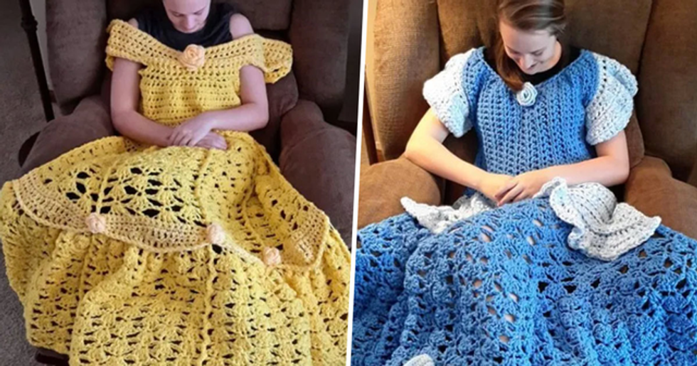 Disney Princess Dress Blankets Are Now a Thing That Exists