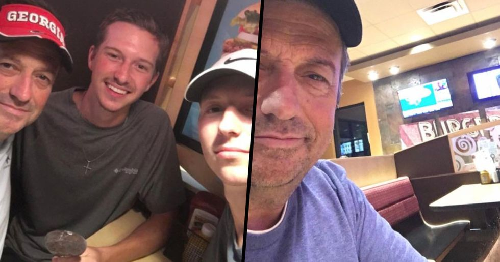 Dad's Touching Instagram Post About His Three Sons Leaving Home Leaves People in Tears
