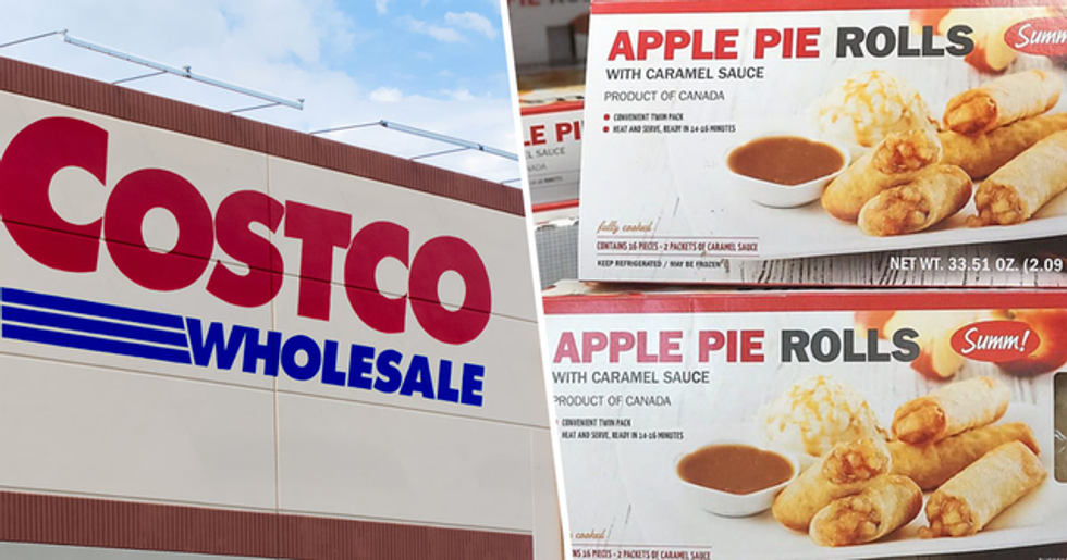 Costco Is Selling Apple Pie Spring Rolls That Come With Caramel Dipping Sauce