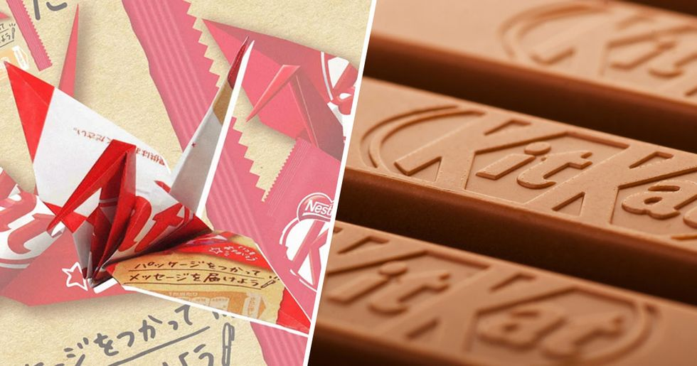 KitKat Is Ditching Plastic Packaging for Paper That You Can Turn Into Origami