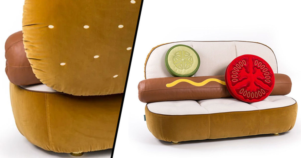 $7,100 Hot Dog Couch Is Currently Being Sold at Your Favorite Department Store