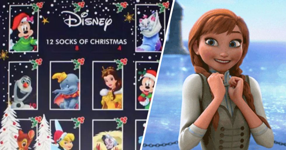 You Can Now Buy a Disney Advent Calendar Filled With Socks
