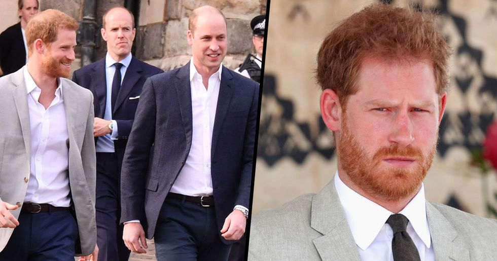 People Are Really Mad about Prince William's Birthday Post for Prince Harry
