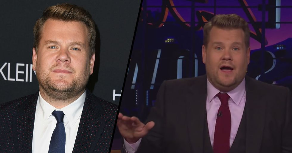 James Corden Had Perfect Response to 'Fat-Shaming Needs to Make a Comeback' Comments