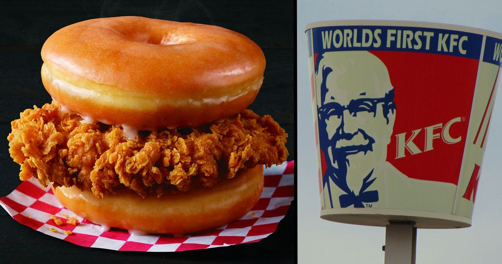 KFC Is Serving a Fried Chicken Donut Burger