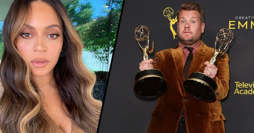 James Corden's Emmy Win over Beyonce Called 'Misogynistic' and 'Racist'