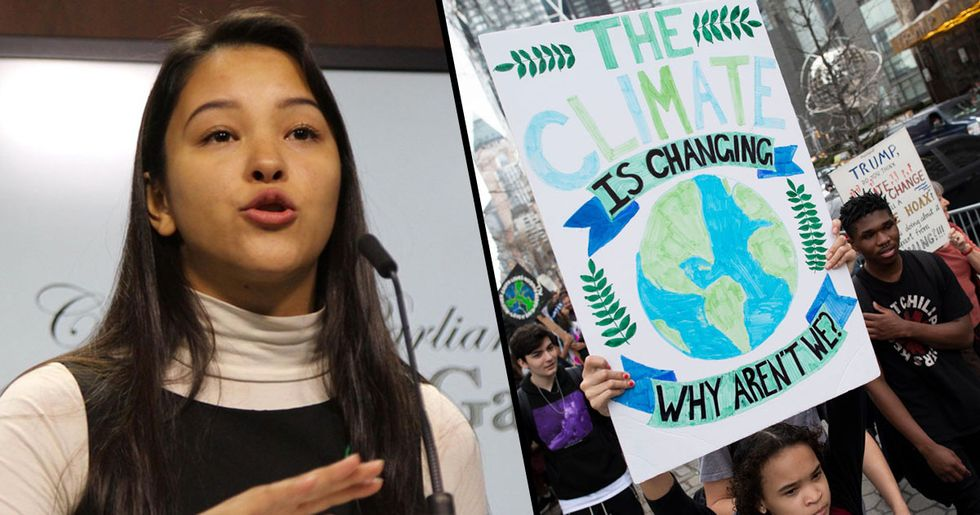 Teens Pledge Not to Have Children until Government Takes Climate Change Seriously