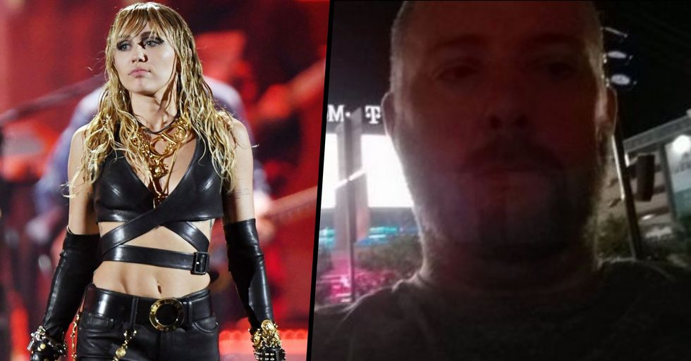 Obsessed Miley Cyrus Fan Was Detained and Arrested at Her Concert for Creepy Threat
