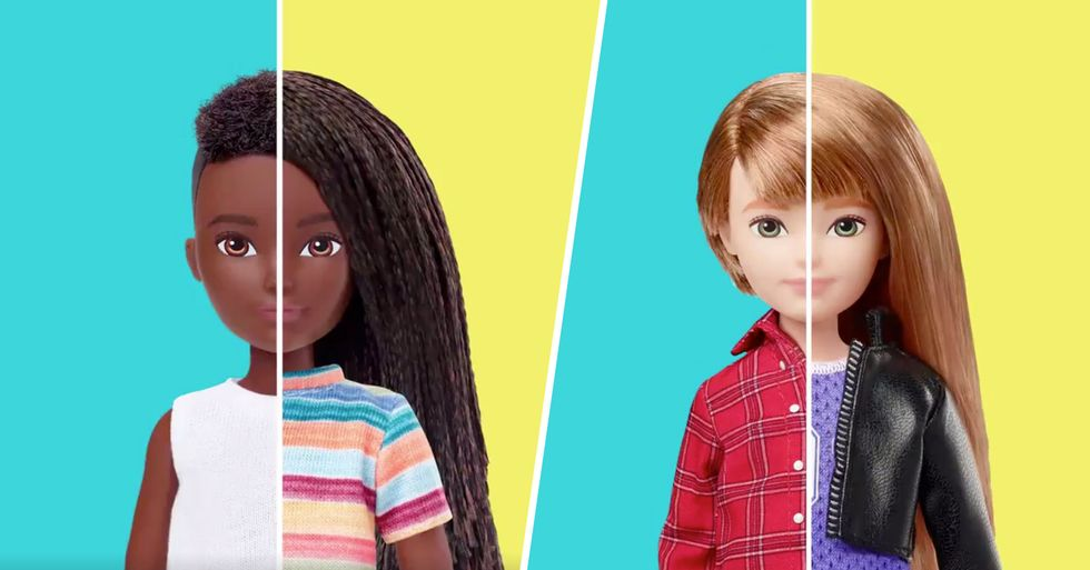Barbie Releases Gender Neutral Dolls