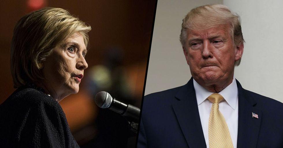 Hillary Clinton Calls for Trump Impeachment