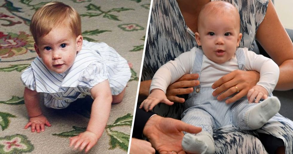 Archie Looks Just Like Prince Harry as a Baby