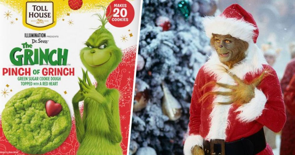 Nestle's 'Grinch' Inspired Christmas Cookie Dough Just Made Our Hearts Grow Three Sizes