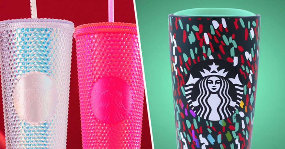 Starbucks Just Released a Sneak Peek of Their Holiday Tumblers and We Want Them All