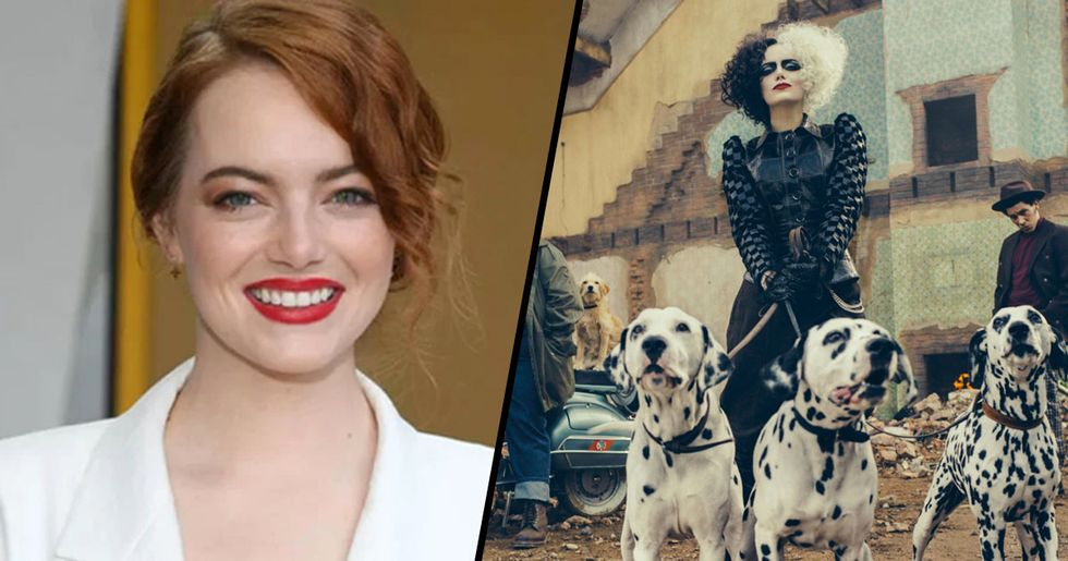 Disney Releases First Pictures of Emma Stone as Cruella de Vil