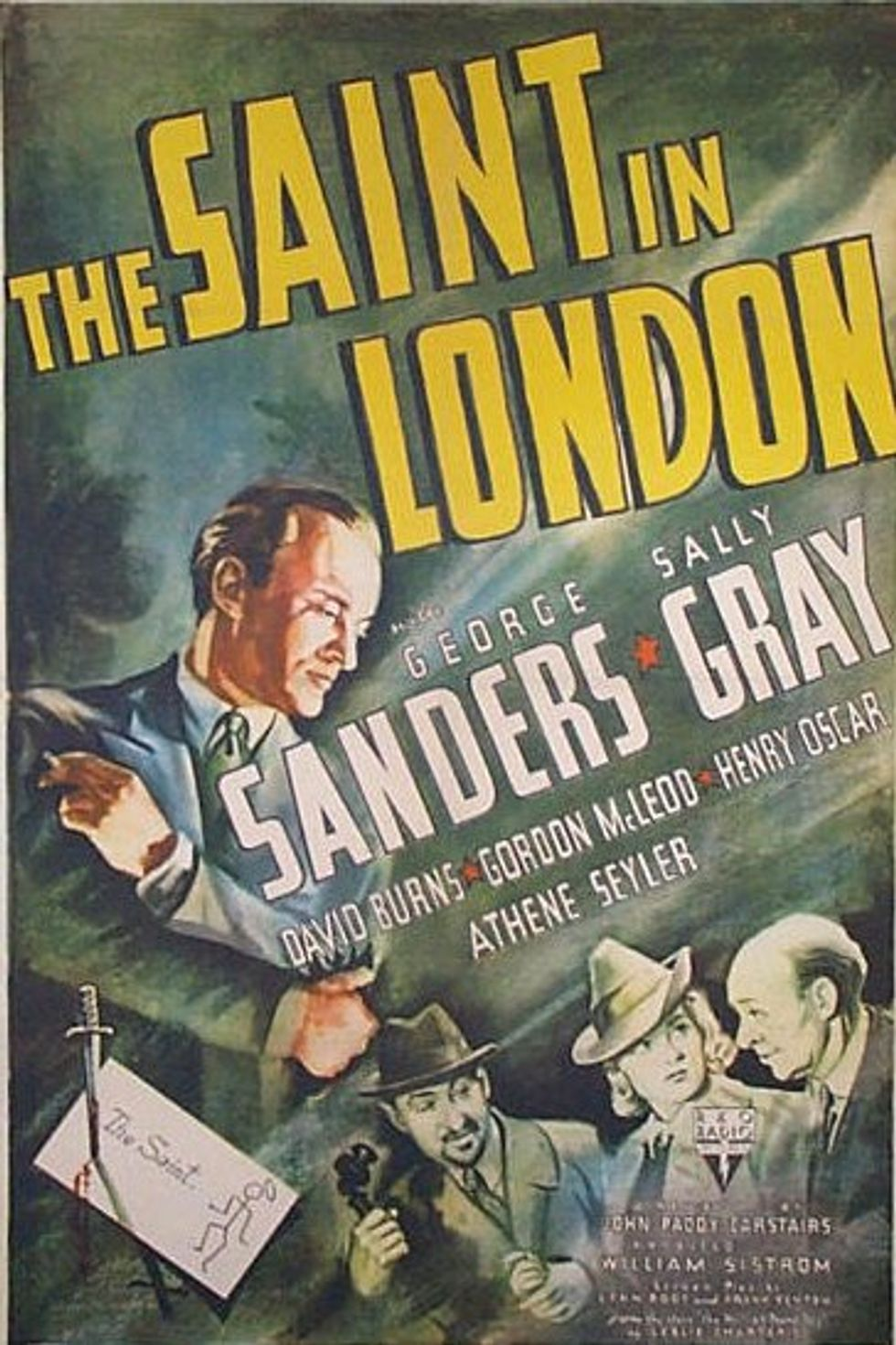 "The George Sanders ""Saint Movies"" Collection On Warner Archive DVD"