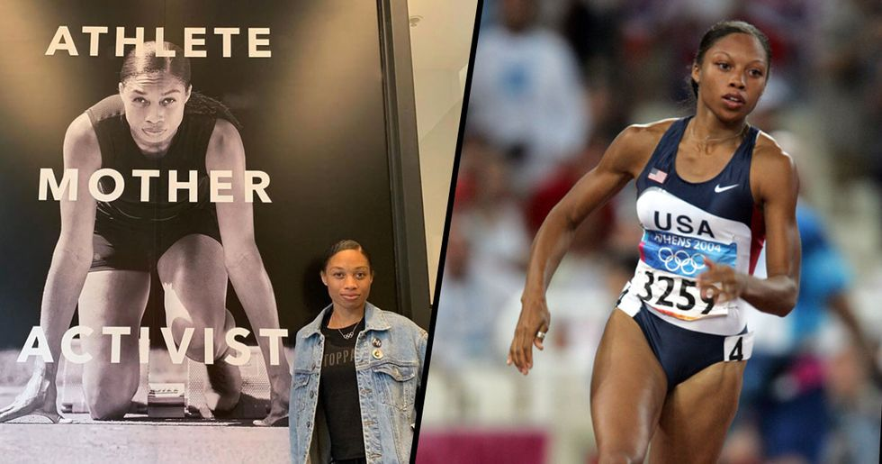 Allyson Felix Just Broke Usain Bolt's Record 10 Months After Giving Birth