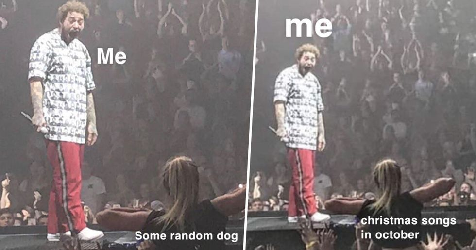 Post Malone's Reaction to Being Flashed Sparks a New Meme