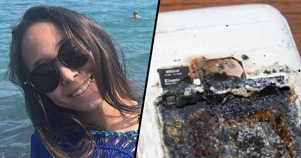 Girl Killed in Her Sleep after Charging Phone Exploded on Her Pillow