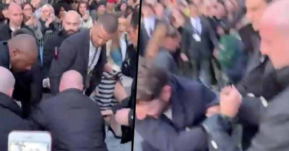 Justin Timberlake Attacked Outside Louis Vuitton Show