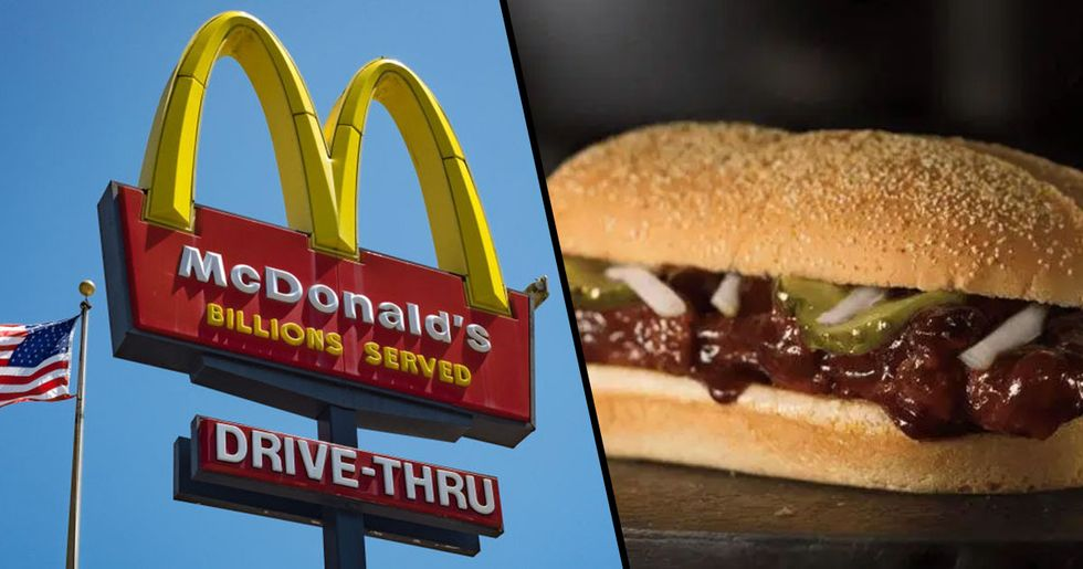 The McRib Is Returning to More Than 10,000 McDonald's Restaurants Across the U.S.