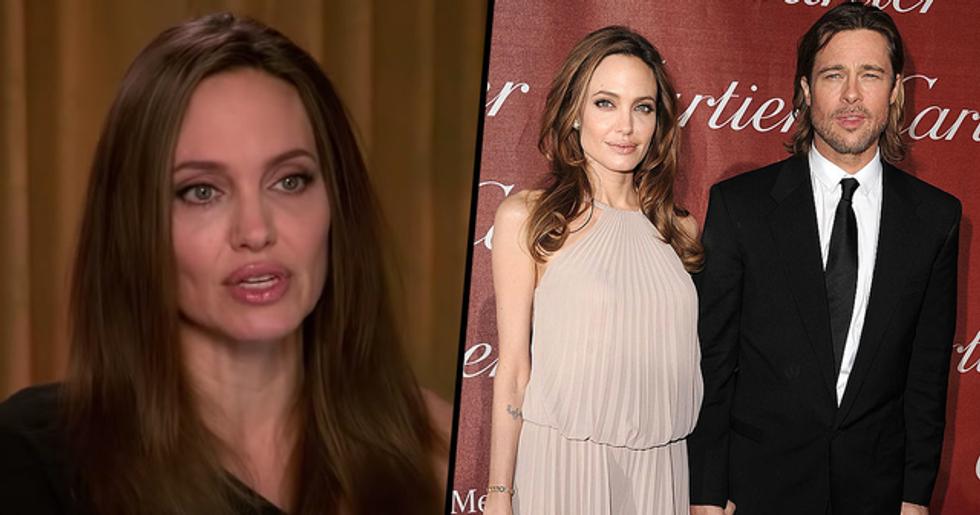 Angelina Jolie Makes Devastating Confession About Brad Pitt Split