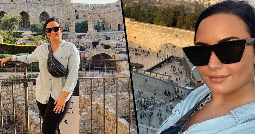 Demi Lovato's Instagram Posts in Israel Receive Huge Backlash