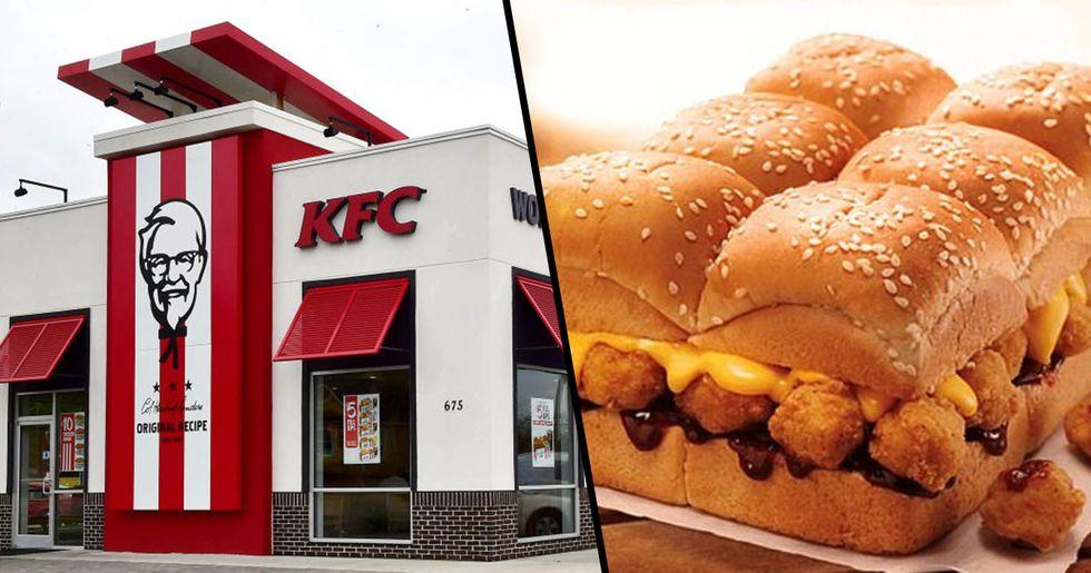 K.F.C. Launch 'Popcorn Chicken Slab'